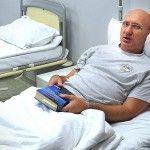 Лікарі-біотехнологи відновили кістку ноги учаснику АТО, який потрапив у полон терористів