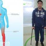 Волонтеры собрали более 16 млн гривен на лечение бойца, который получил травму позвоночника в 2014 году на Луганщине
