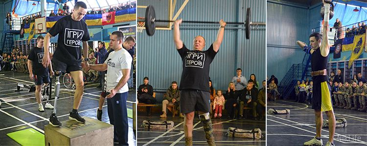 Games of heroes. The soldiers without arms and legs shocked with their sport achievements