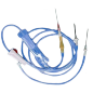 Infusion system and catheters for blood transfusion