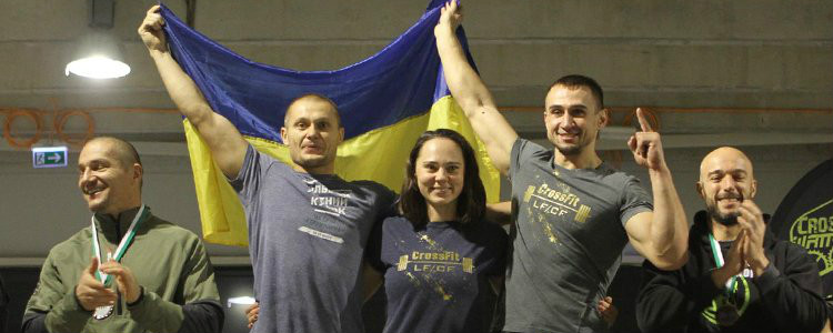 Ukrainian sportsmen won the European cross-fit Championship. The video
