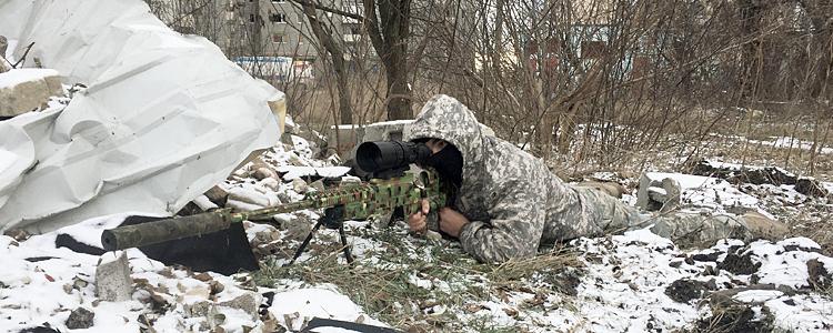 Бойовий підрозділ снайперів отримав теплоприціл від «People's Project»