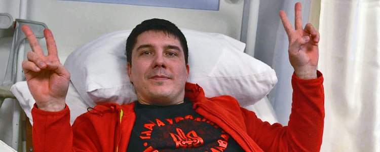 Oleksiy B, 31. The treatment stopped | People's project
