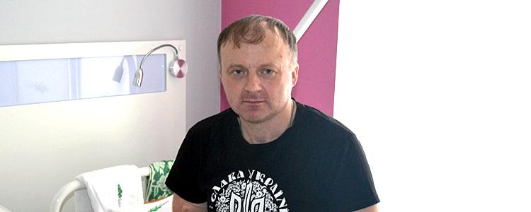 Пацієнту «Біотеху» Василю зробили першу тяжку операцію