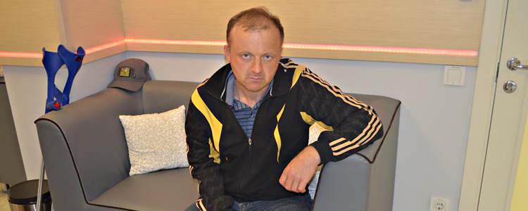 Vasyl, 42. Treatment is in progress | People's project