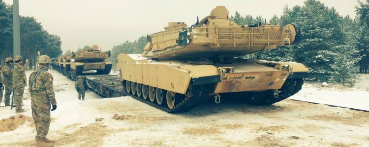 До Польщі прибули американські танки