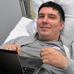 Бійцю, пораненому в ДАП, за допомогою клітинних технологій виростили потрощену ногу