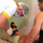 Биотехнологи спасли военного от ампутации ноги и срастили кость