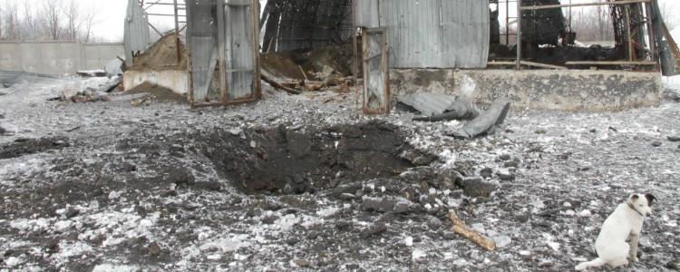 Терористи знову обстріляли Авдіївку (ФОТО, ВІДЕО)