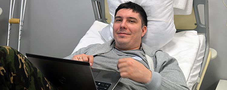 «Біотех» відновив фактично знищену ногу бійця