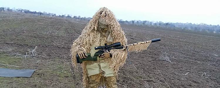 Снайпери, яким People's Project допоміг обладнати гвинтівки, починають роботу