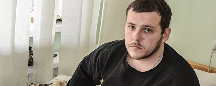 Mykyta, 28. Fundraising suspended | People's project