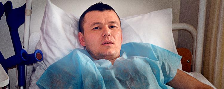 Пацієнта «Біотеху» терміново прооперували одразу ж після обстеження