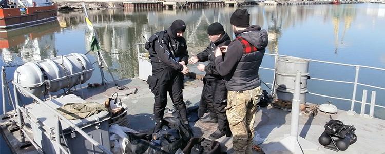 """""""Школа військових водолазів"""" відкриває другий сезон навчання"""