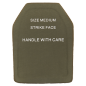 Armor plates (UHMWPE), 3rd class, size M