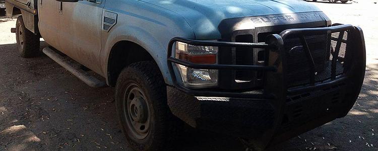 «М'ясорубка на колесах»: волонтери встановили убивчий агрегат на автівку для військових