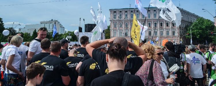 Бійці, яким обіцяли інвалідність, пробігли марафон у Києві
