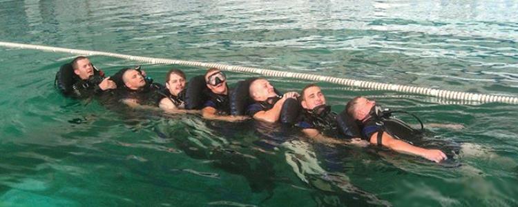 Готові! Водолази морської охорони розпочинають інтенсивні тренування