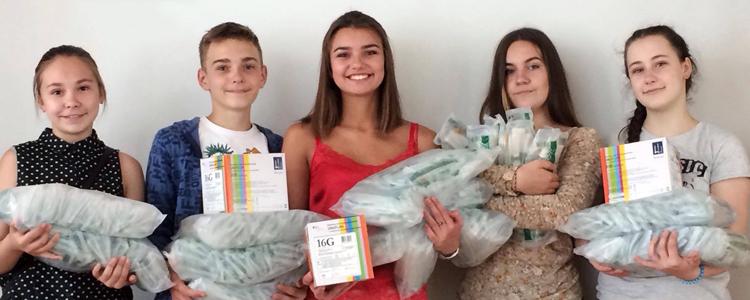 Учні львівської гімназії допомагають рятувати життя бійців