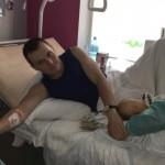Лікарі «Біотеху» взялися рятувати ногу бійця, від якої мало що лишилося