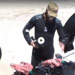 «Школа військових водолазів»: у Чорному морі тренувалися нацгвардійці-підводники (відео)