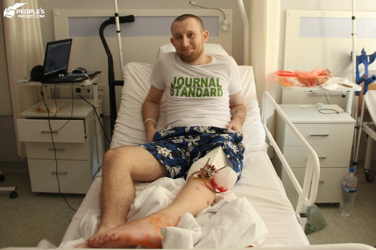 People's Project has paid for treatment of another two fighters   People's project
