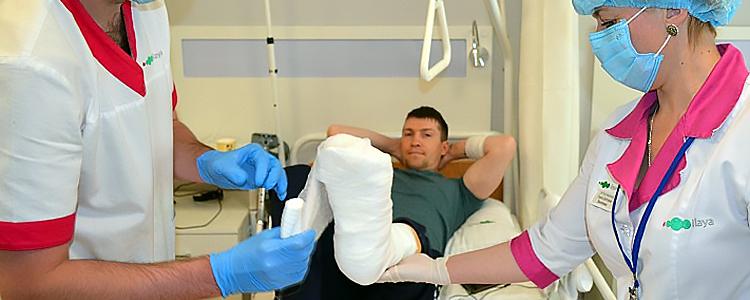 Молодий танкіст Віталій знову втрапив на операційний стіл