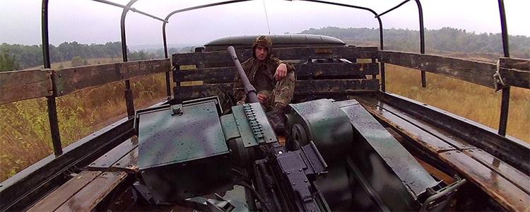 People's Project intensifies work on machine gun turrets