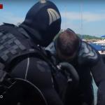 Военные водолазы учатся противостоять диверсиям на морском дне