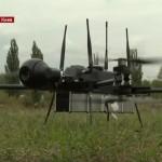 Мобильный дрон-разведчик с защитой от перехвата