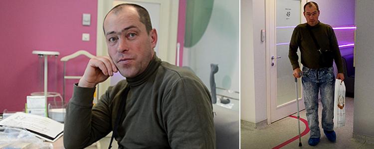 Володимир, 45 років. Вартість лікування 87 318 грн