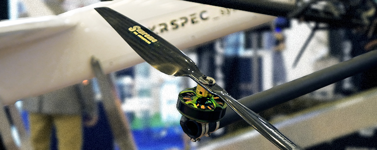 UAV PC-1 engineers displayed their newest inventions at an international exhibition