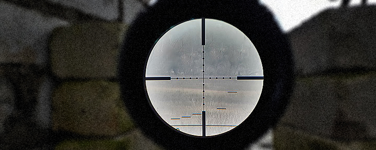 A sniper's day. On a combat outing to the frontline