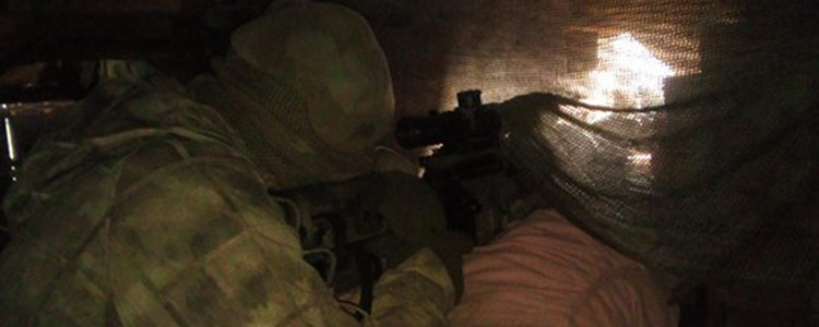 Unique photos from our snipers' positions: People's Project assists, the fighters are thankful