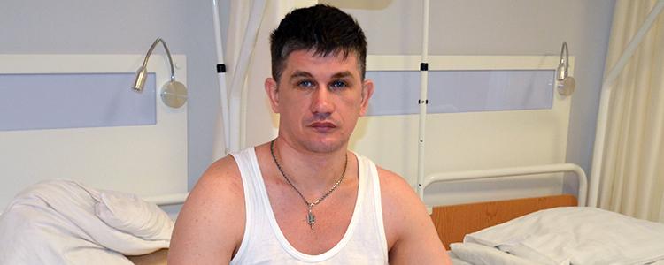 Його перелом не зростався два роки: одному з бійців «Біотеху» провели останню операцію