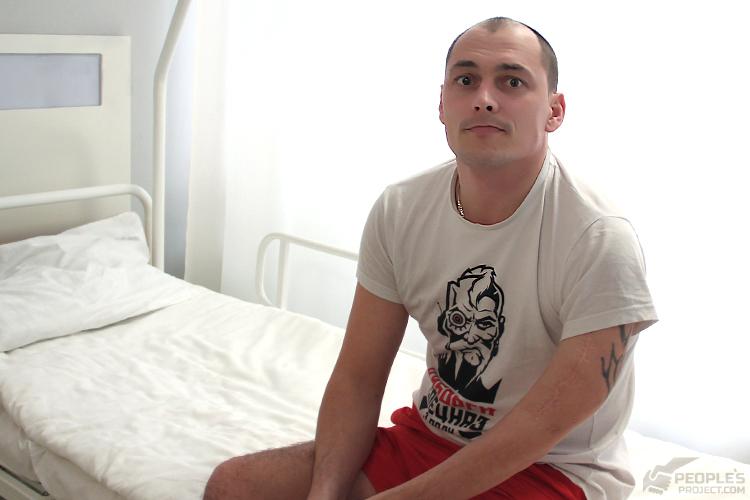 Поранений Юрій: кілька годин до операції
