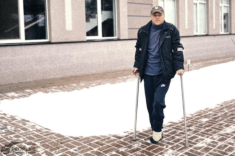 Волонтерський проект відновив ногу пораненого бійця | People's project