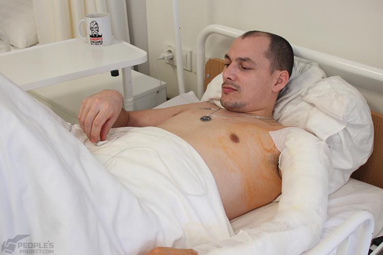 Поранений Юрій: щойно по операції