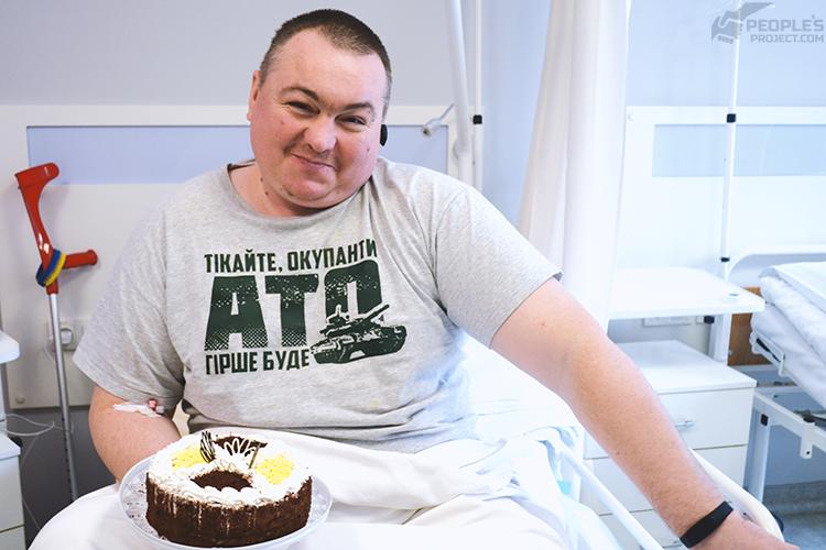 Сергій, пацієнт проекту «Біотех-реабілітація поранених»
