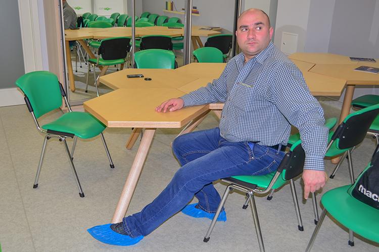 Максим, пацієнт волонтерського медичного проекту People's Project «Біотех-реабілітація поранених»