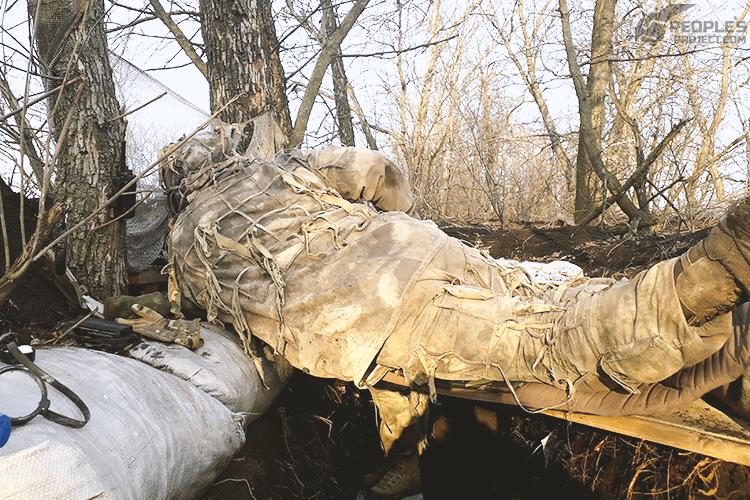 Снайпери дякують за відчутну допомогу. ФОТО | People's project