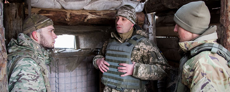 """We will definitely come back to Crimea"": marine brigade commander Dmytro Delyatytskyi"