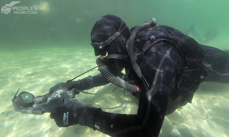 The School of Military Divers takes on the Special Forces divers' backing | People's project