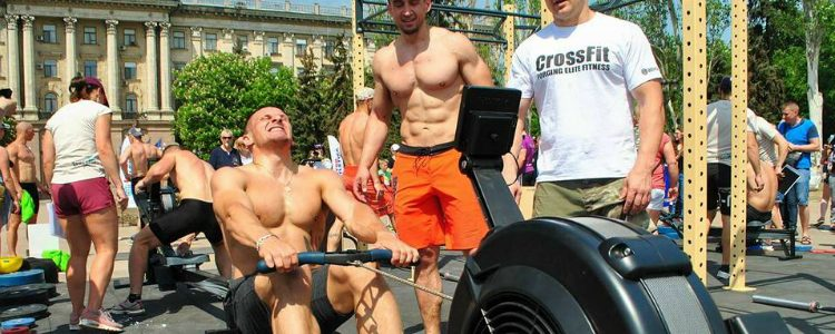 Special Forces' strongest: cross-fit contest in Mykolaiv