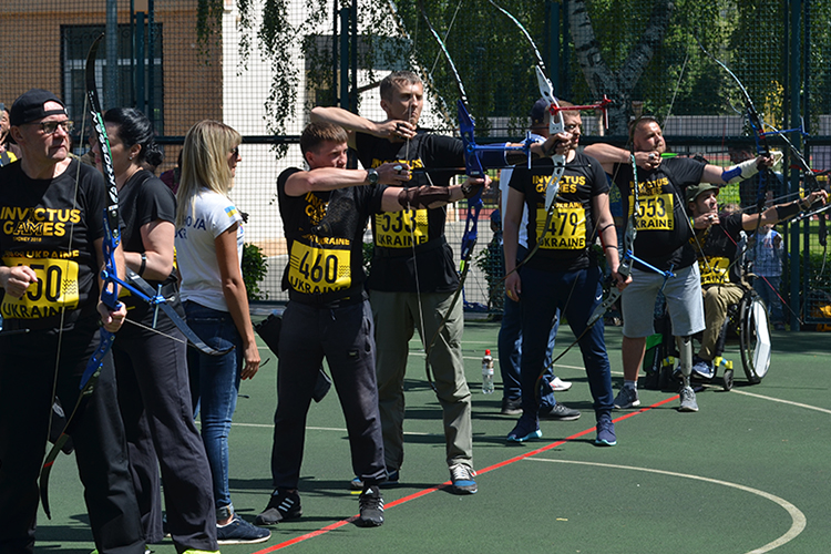 Fighters recovered within Bioengineering Rehabilitation for Wounded participate in qualifications to Invictus Games 2018 | People's project