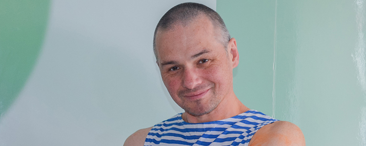 Dmytro, 45. The treatment is in progress. | People's project
