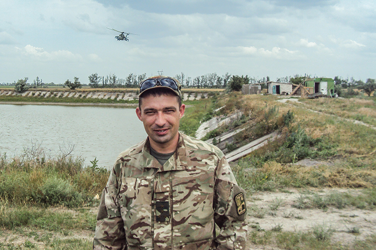 """""""I could have stayed disabled"""": fighter saved by volunteers, is back to military service 