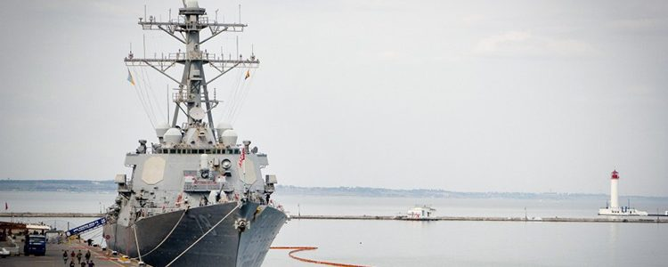 NATO ships arrive in Odesa for Sea Breeze 2018 Drills