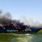 Waves of flame. Fourth anniversary of attack on Azov Sea Guards' vessels
