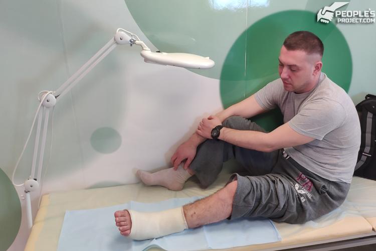 Волонтерський проект врятував бійця від тяжкого каліцтва | People's project